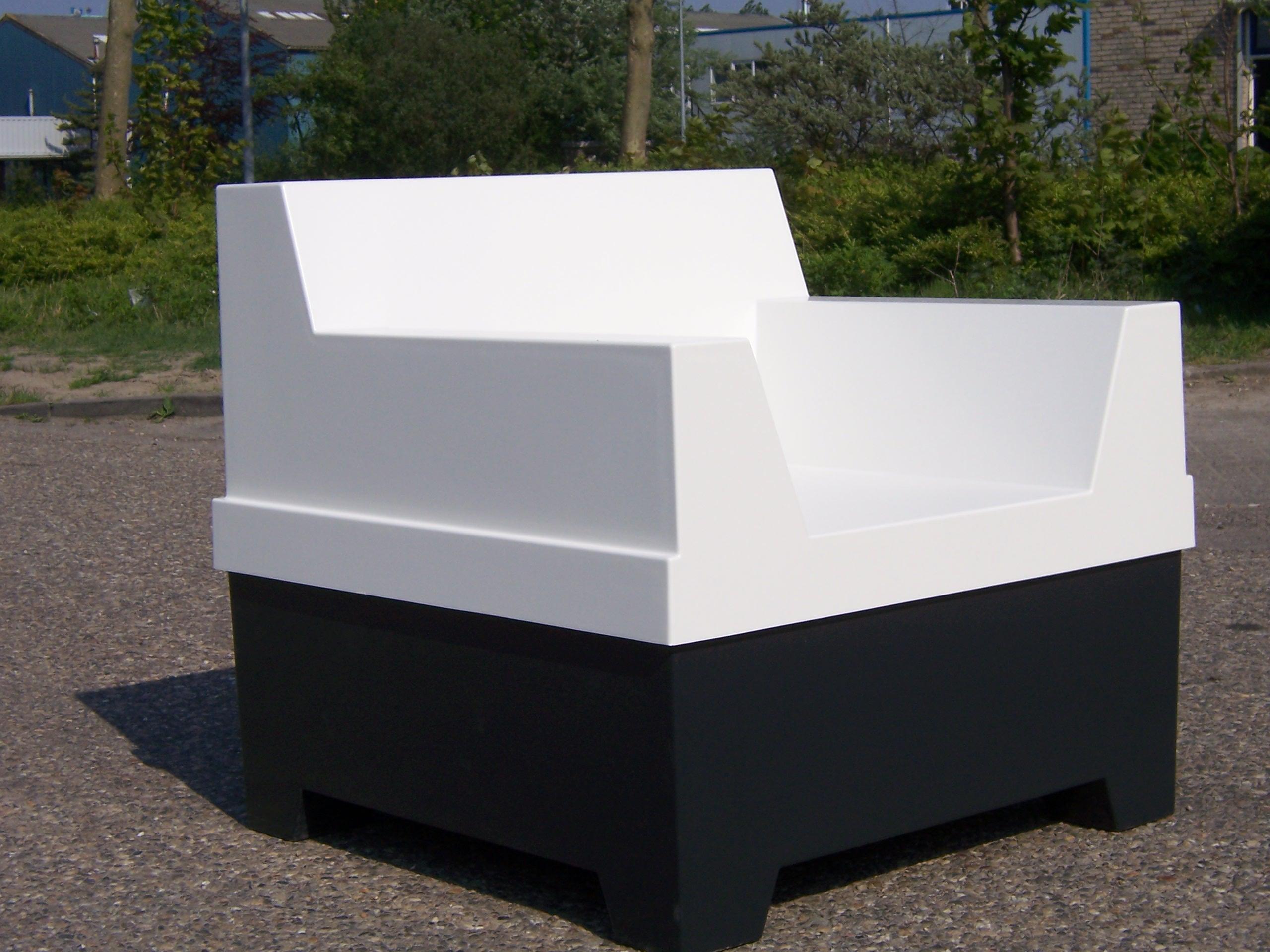 polyester stoel