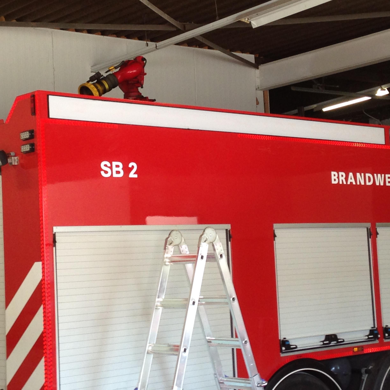 Repatartur Feuerwehrwagen